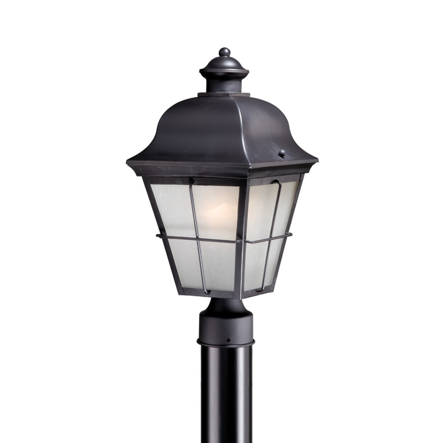 Cascadia Lighting New Haven 16.625-in H Oil-Rubbed Bronze Post Light