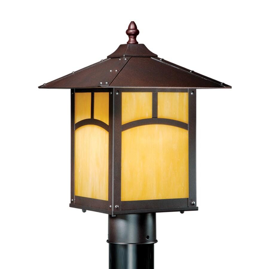 Cascadia Lighting Taliesin 14.25-in H Espresso Bronze Post Light