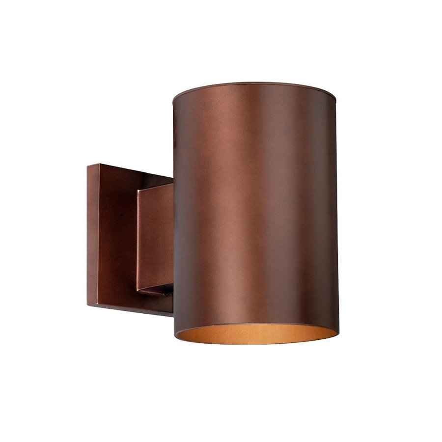 Cascadia Lighting Chiasso 7.25-in H Bronze Outdoor Wall Light