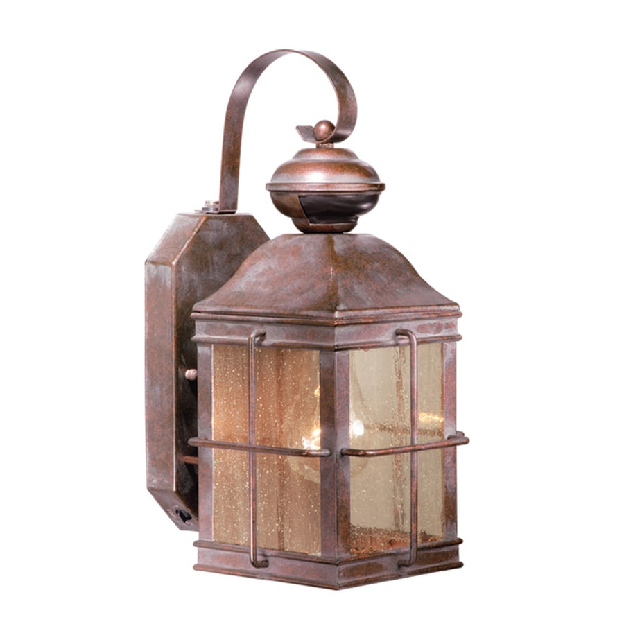 Cascadia Lighting Revere 14.375-in H Royal Bronze Motion Activated Outdoor Wall Light
