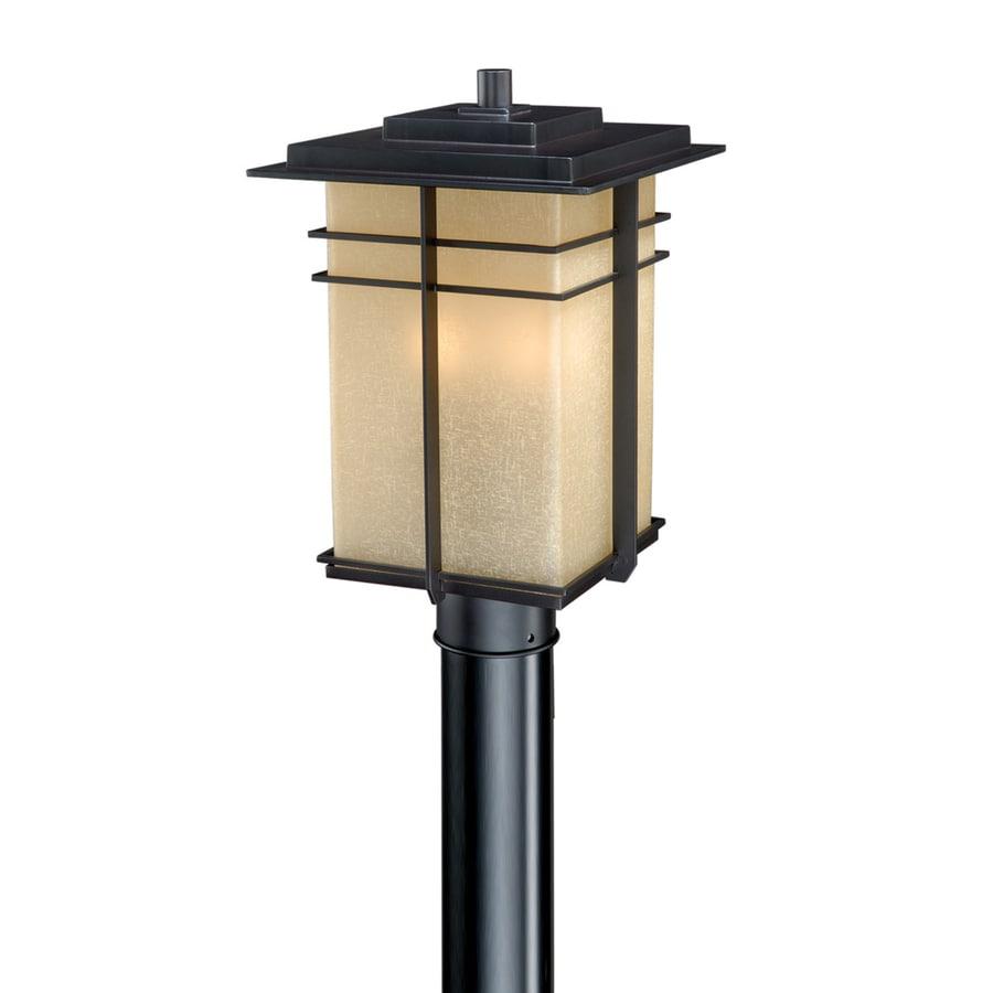Cascadia Lighting Ashbee 14.25-in H Noble Bronze Post Light