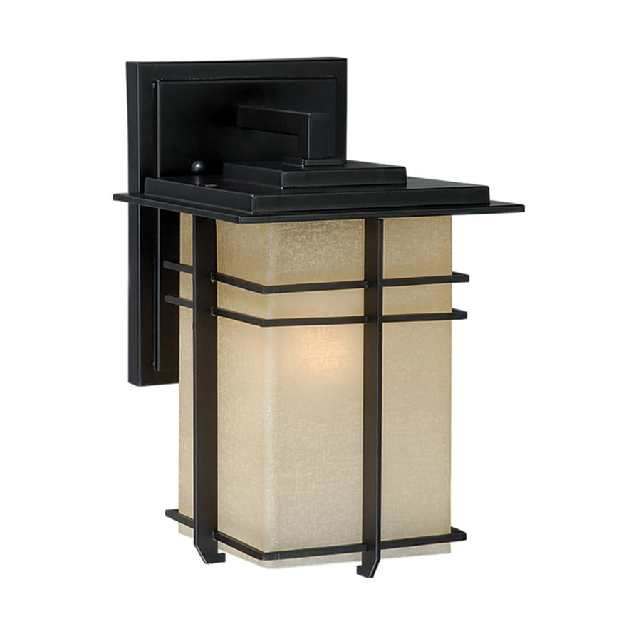 Cascadia Lighting Ashbee 11-in H Noble Bronze Outdoor Wall Light