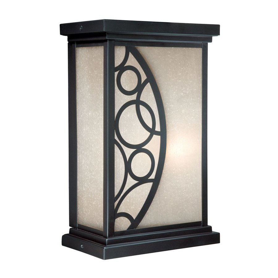 Cascadia Lighting Prosecco 13.75-in H Noble Bronze Outdoor Wall Light