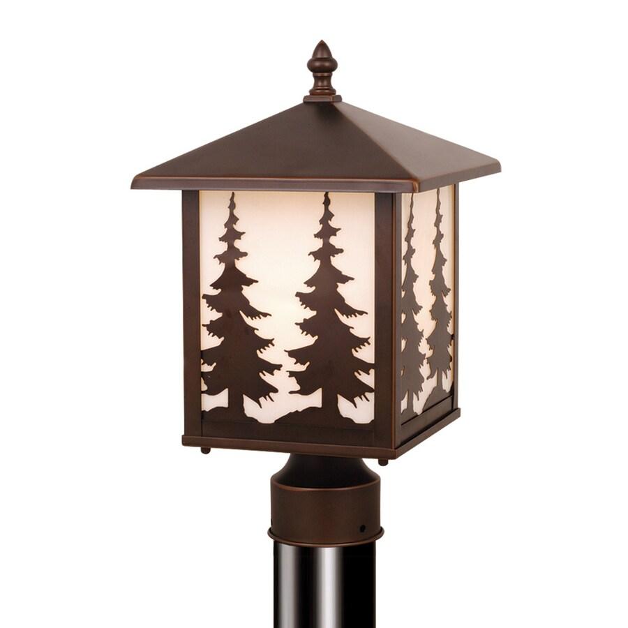 Cascadia Lighting Yosemite 14-in H Burnished Bronze Post Light