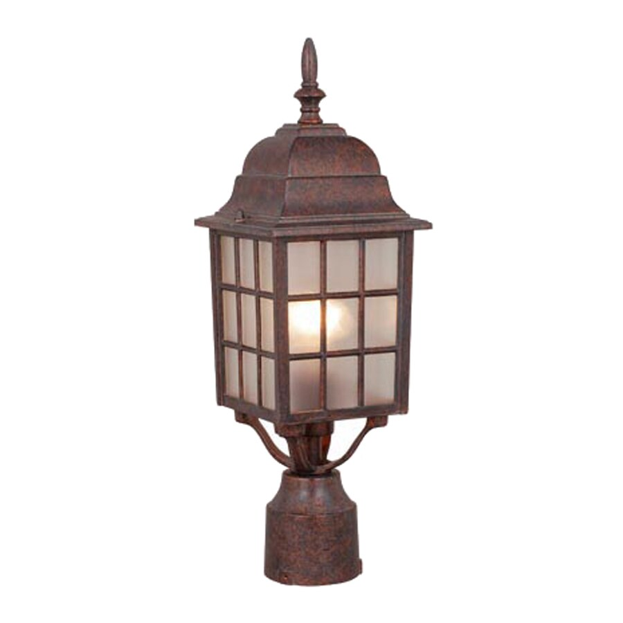 Cascadia Lighting Vista 18-in H Royal Bronze Post Light