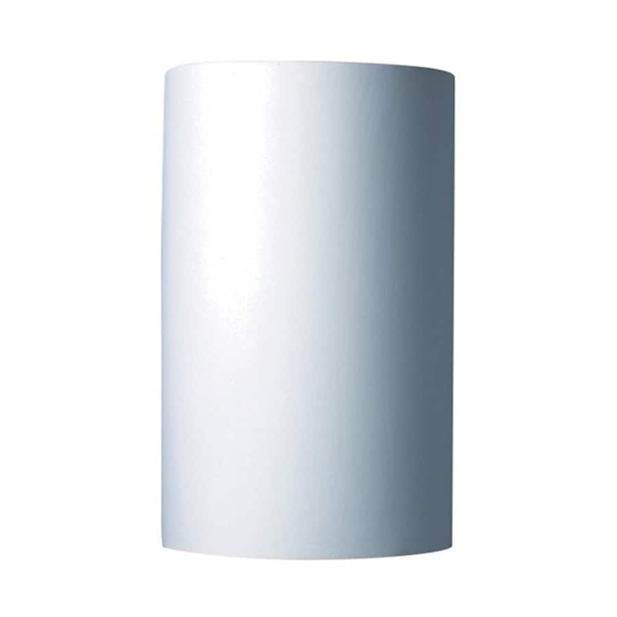 Cascadia Lighting Ambiance 12.5-in H Bisque Unfinished Outdoor Wall Light