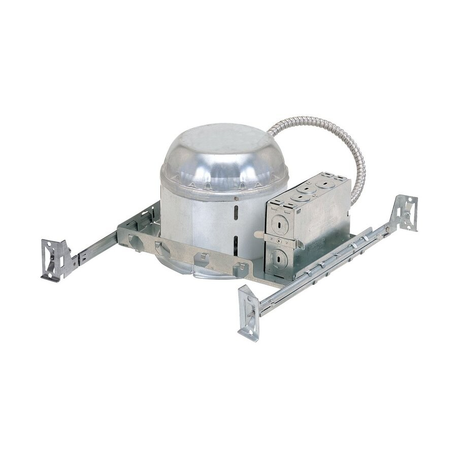 Nora Lighting New Construction Airtight IC Shallow Recessed Light Housing (Common: 7-in; Actual: 6.375-in)