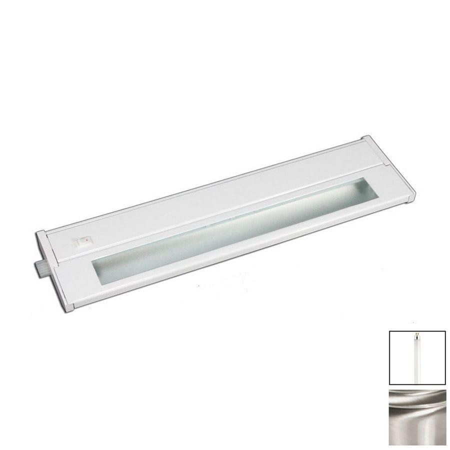 Cascadia Lighting 10-in Hardwired/Plug-In Under Cabinet Fluorescent Light Bar