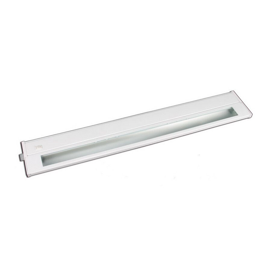 Cascadia Lighting 22-in Hardwired/Plug-In Under Cabinet Fluorescent Light Bar