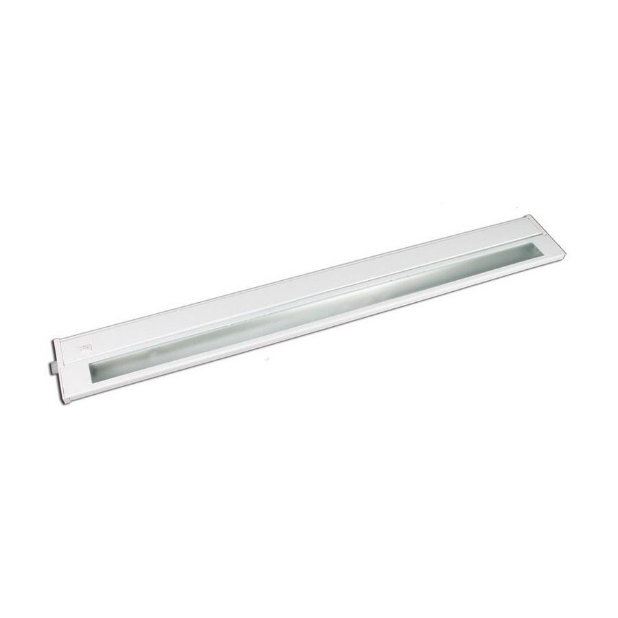 Cascadia Lighting 28-in Hardwired/Plug-In Under Cabinet Fluorescent Light Bar