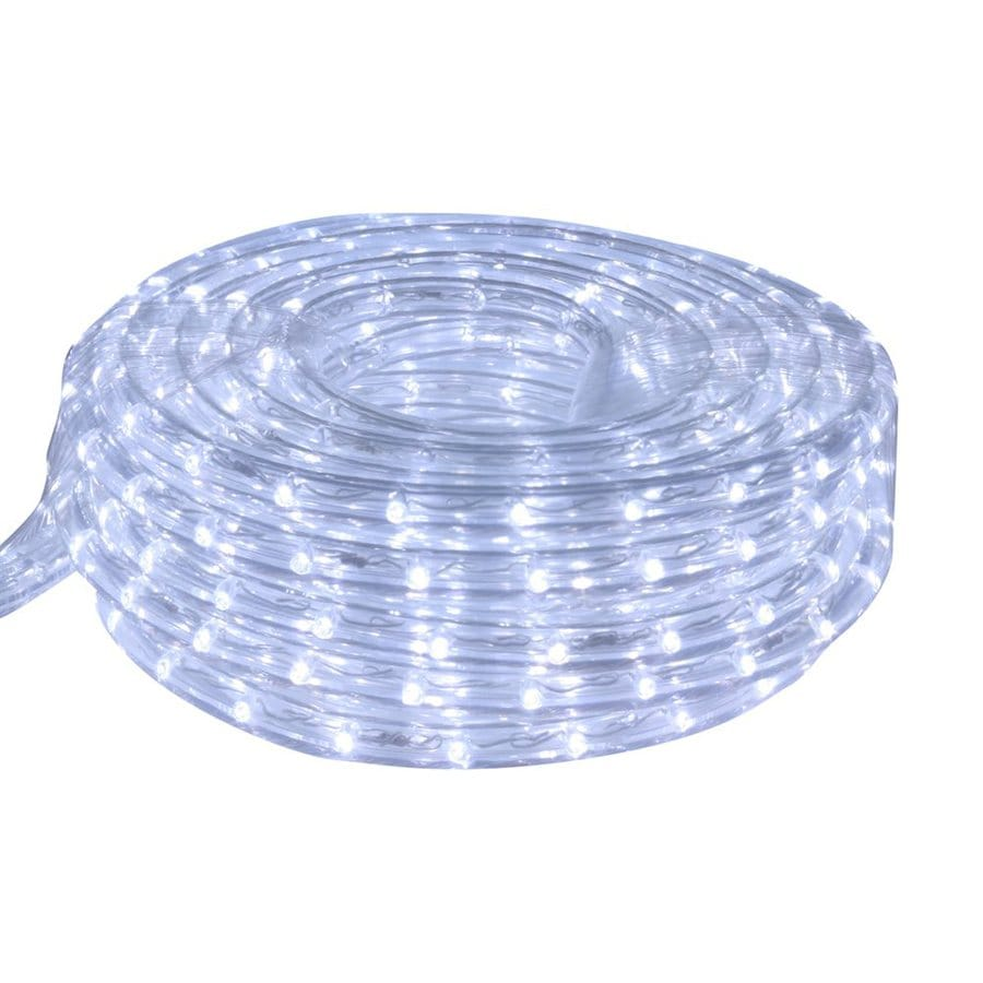 Shop cascadia lighting 9 ft led cool white rope light at for Manguera led exterior