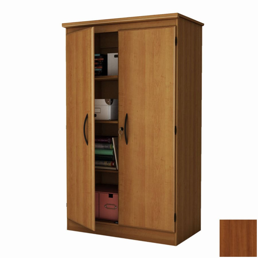 South Shore Furniture Morgan Cherry 4 Shelf Office Cabinet