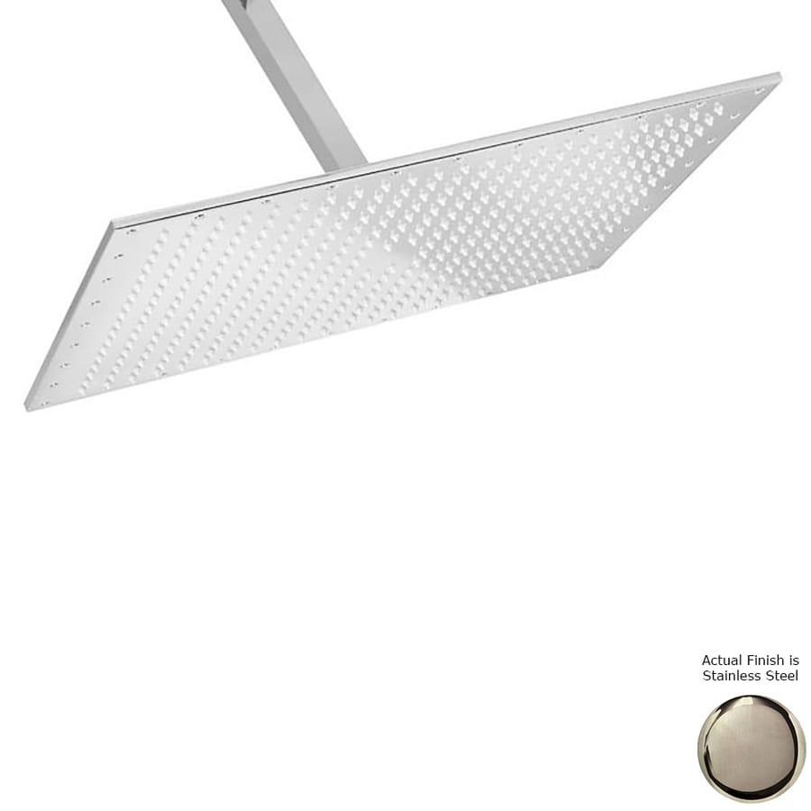 Westbrass 2.2-GPM (8.3-LPM) Stainless Steel Rain Showerhead