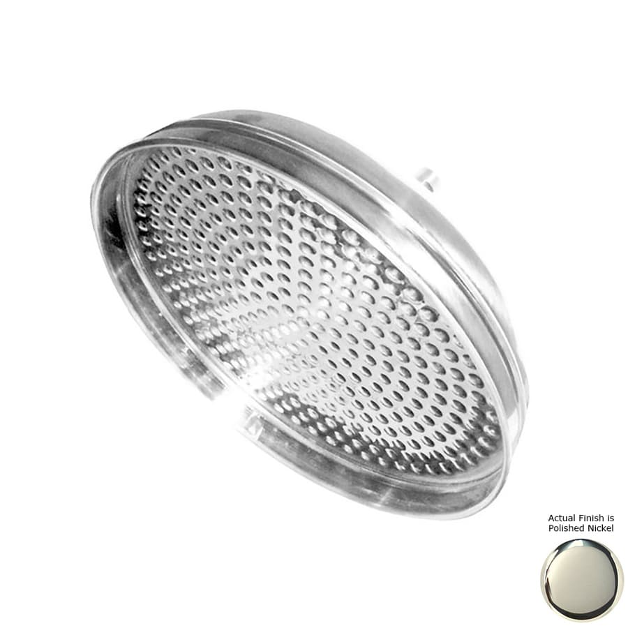 Westbrass Shower Accessories 12-in 2.2-GPM (8.3 Lpm) Polished Nickel Rain Showerhead