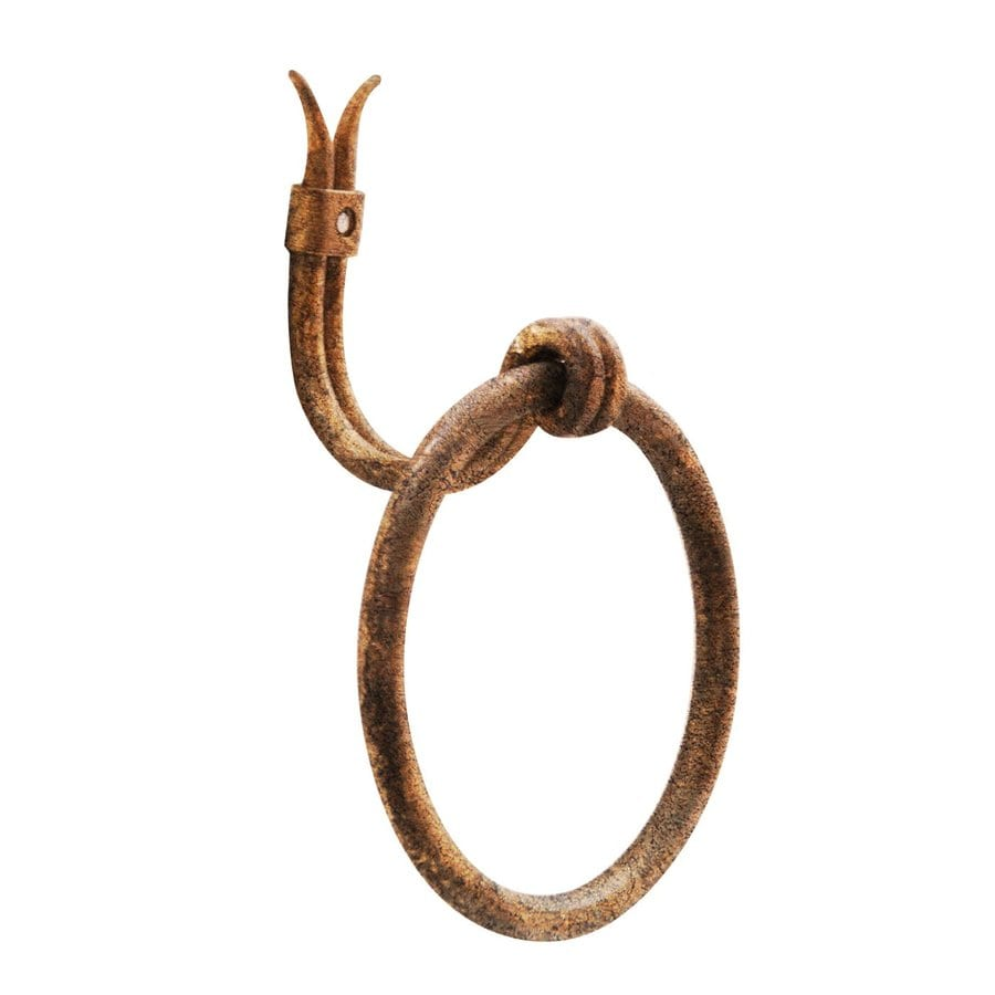 Artesano Iron Works Antique Copper Wall Mount Towel Ring