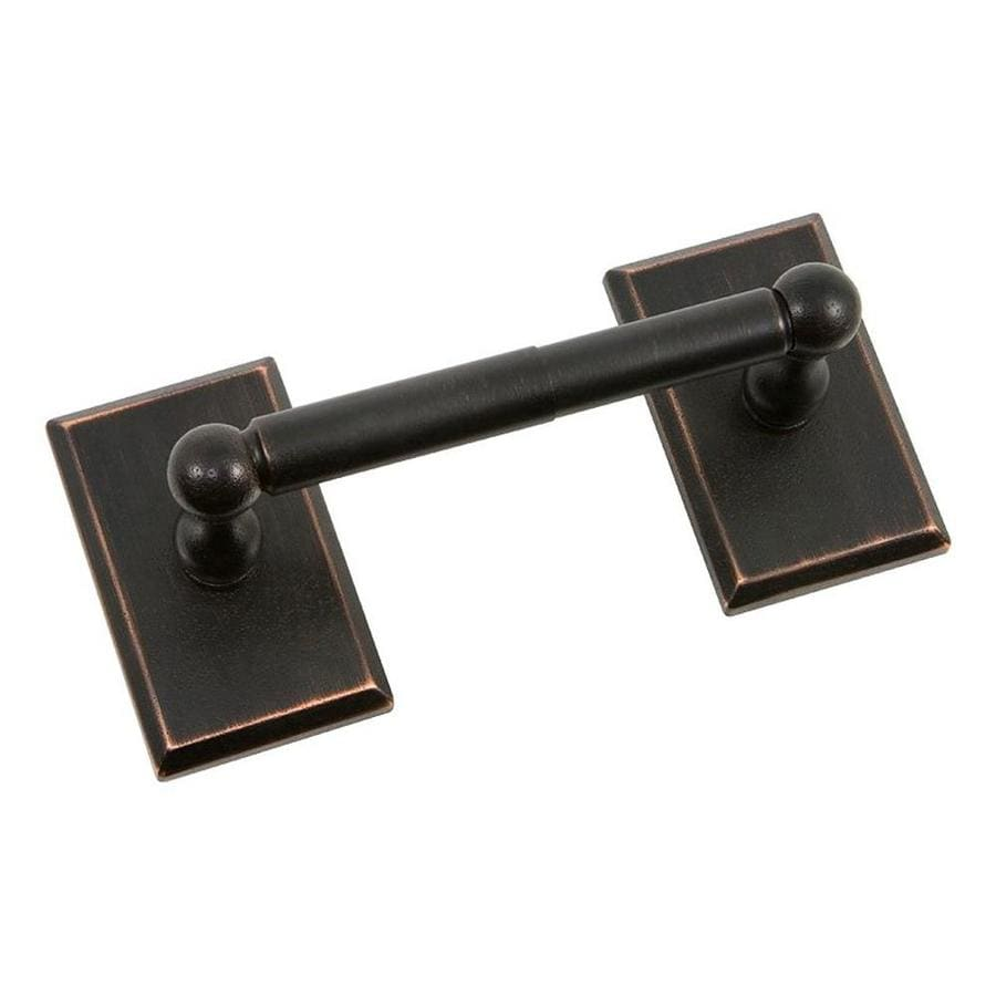 The Delaney Company 1000 Series Aged Bronze Surface Mount Toilet Paper Holder