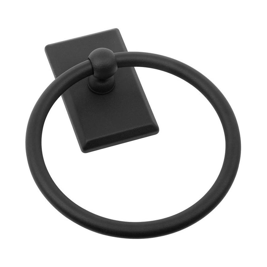 The Delaney Company 1000 Series Aged Black Wall-Mount Towel Ring