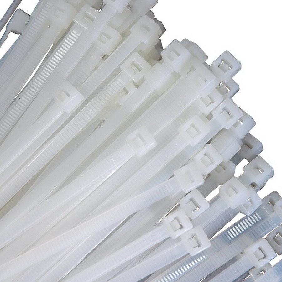 K Tool International 100-Pack 14-in Nylon Cable Ties