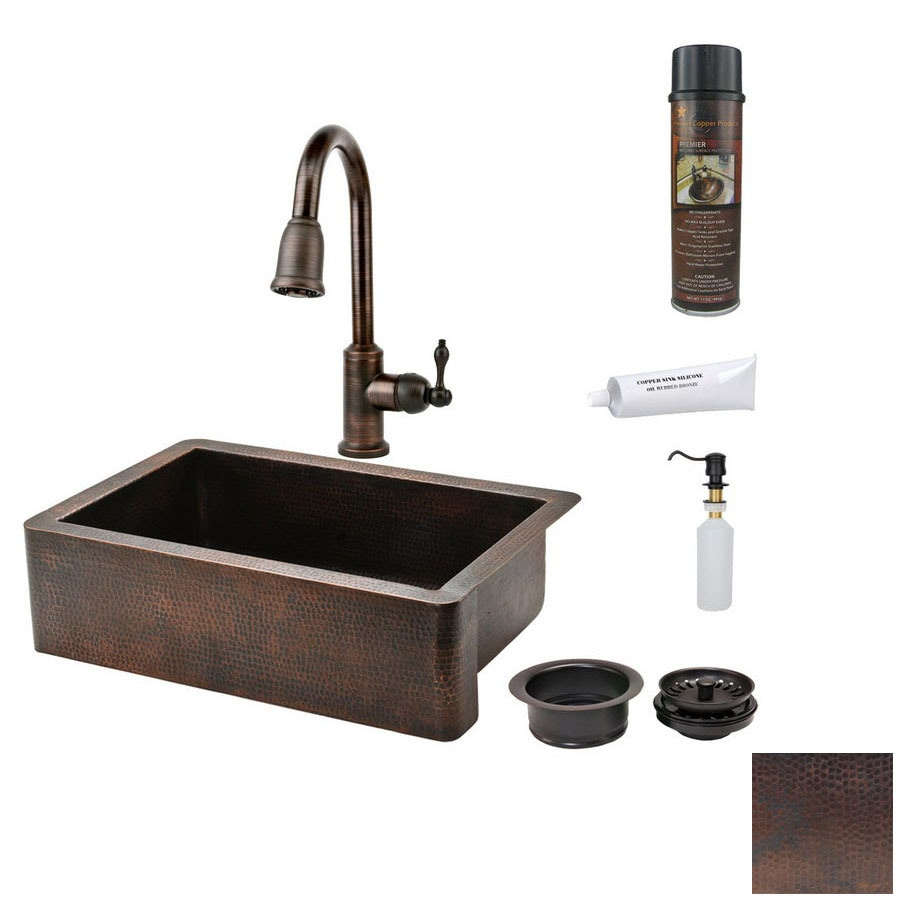 Shop Premier Copper Products 22-in x 33-in Oil-Rubbed Bronze ...