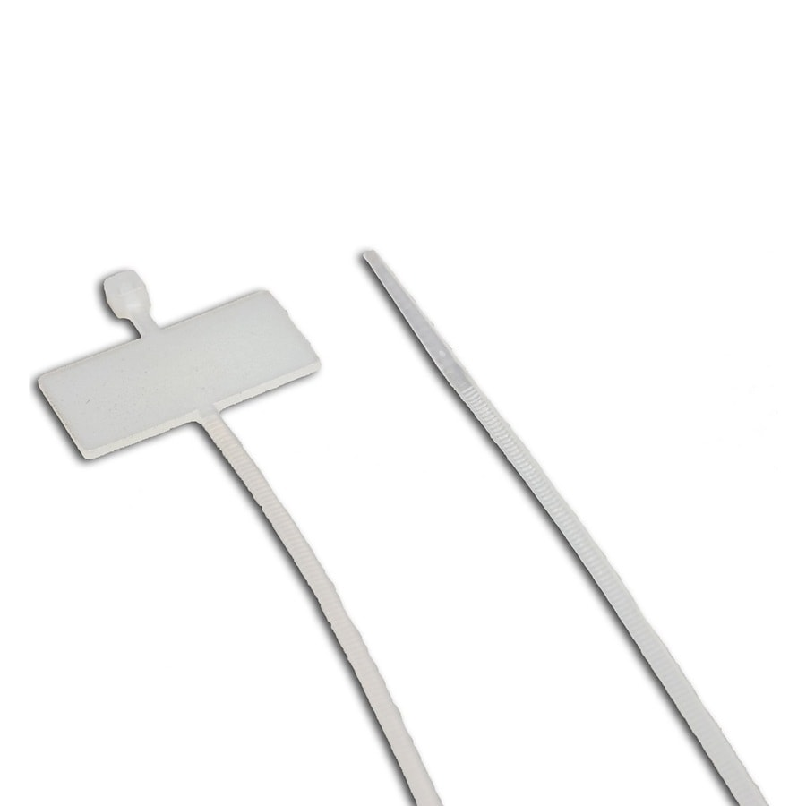 Morris Products 100-Pack 7.87-in Nylon Cable Ties