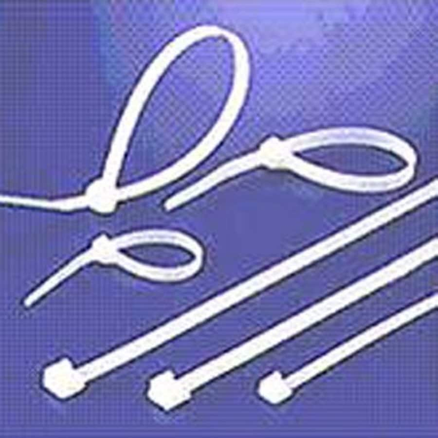 Morris Products 100-Pack 14.5-in Nylon Cable Ties