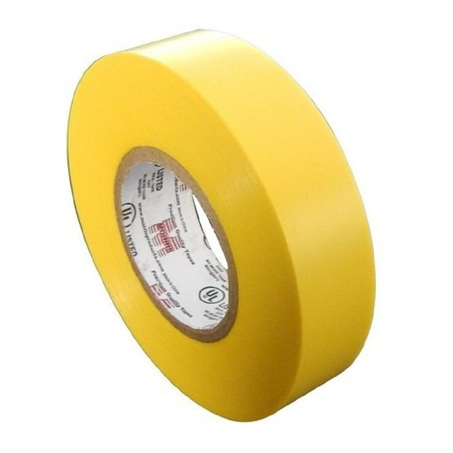Morris Products 60-ft Yellow Electrical Tape