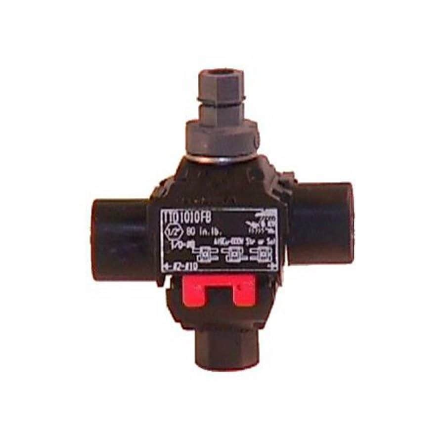Morris Products 15-Amp 600-Volt Black 1-Wire Connector