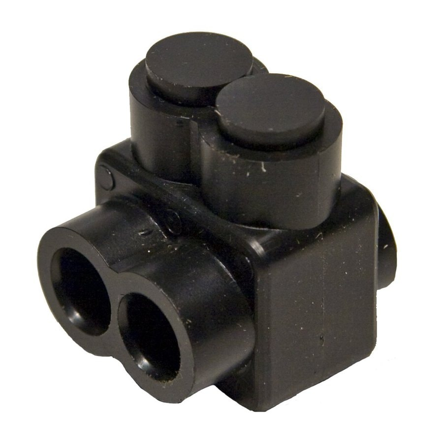 Morris Products 10-Amp 600-Volt Black 4-Wire Connector