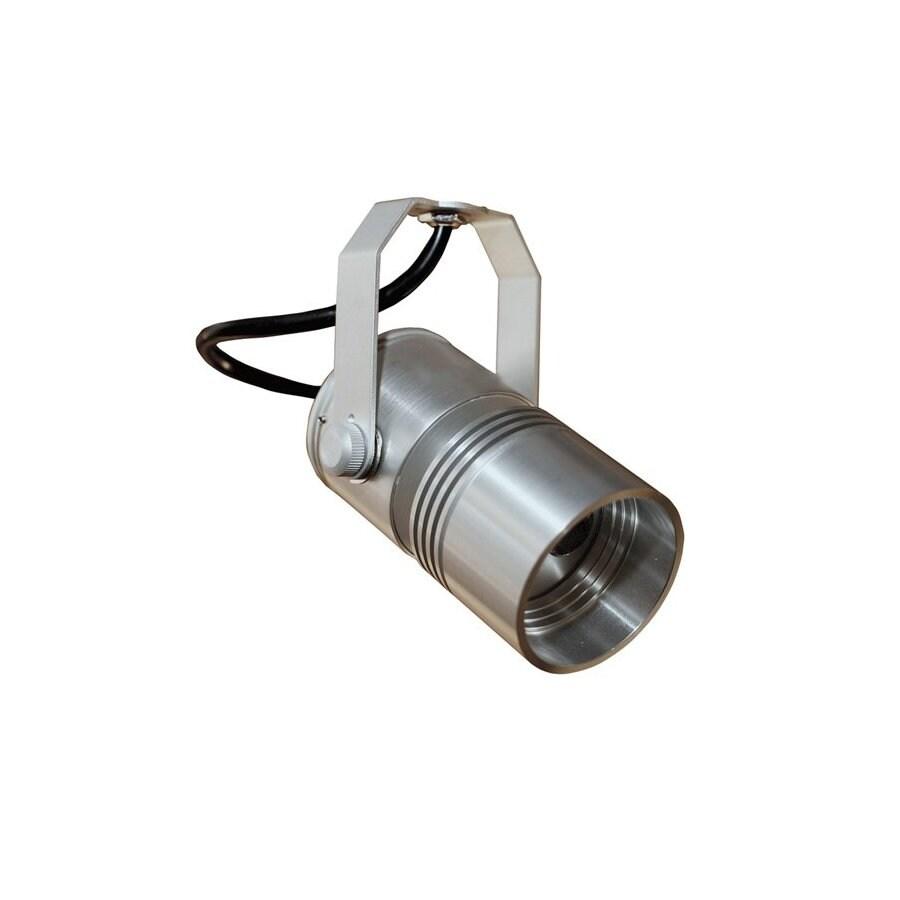 Led Track Lighting Lowes: Prima Lighting 3-Light LED Silver Flexible Track Lighting