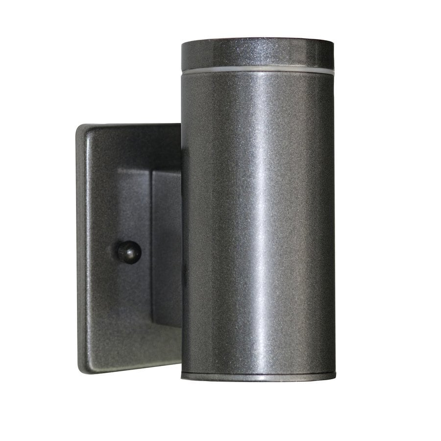 EGLO Riga 6-in H Anthracite Outdoor Wall Light