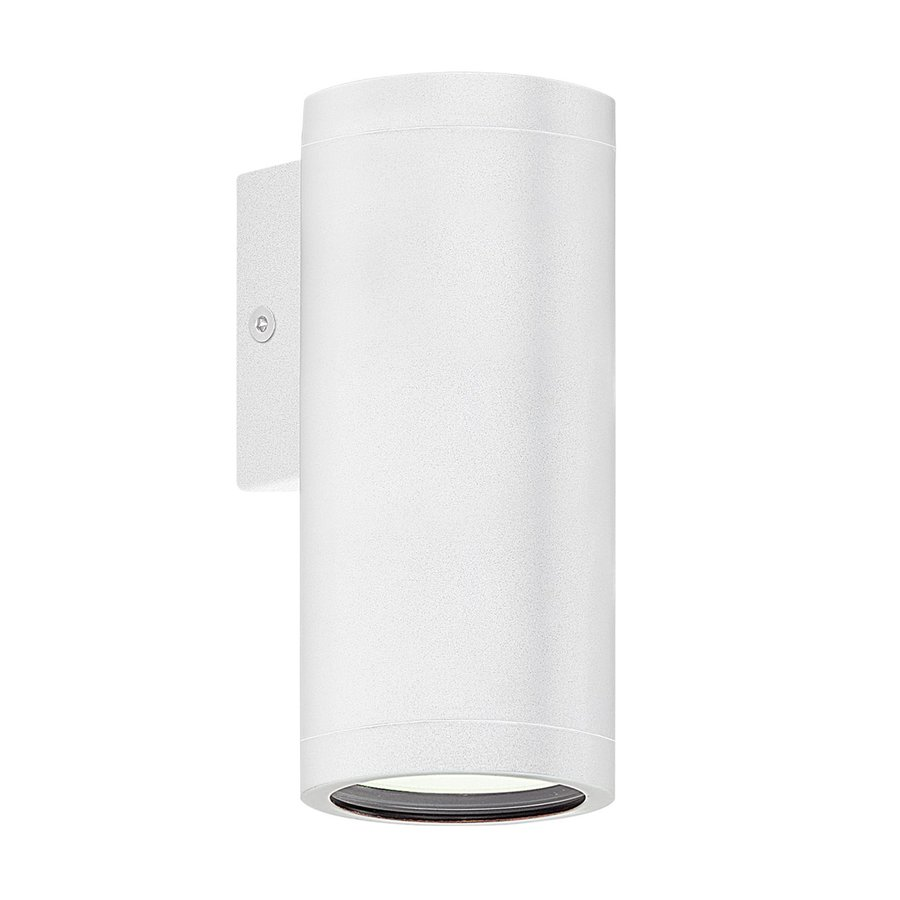 EGLO Riga 6-in H White Outdoor Wall Light
