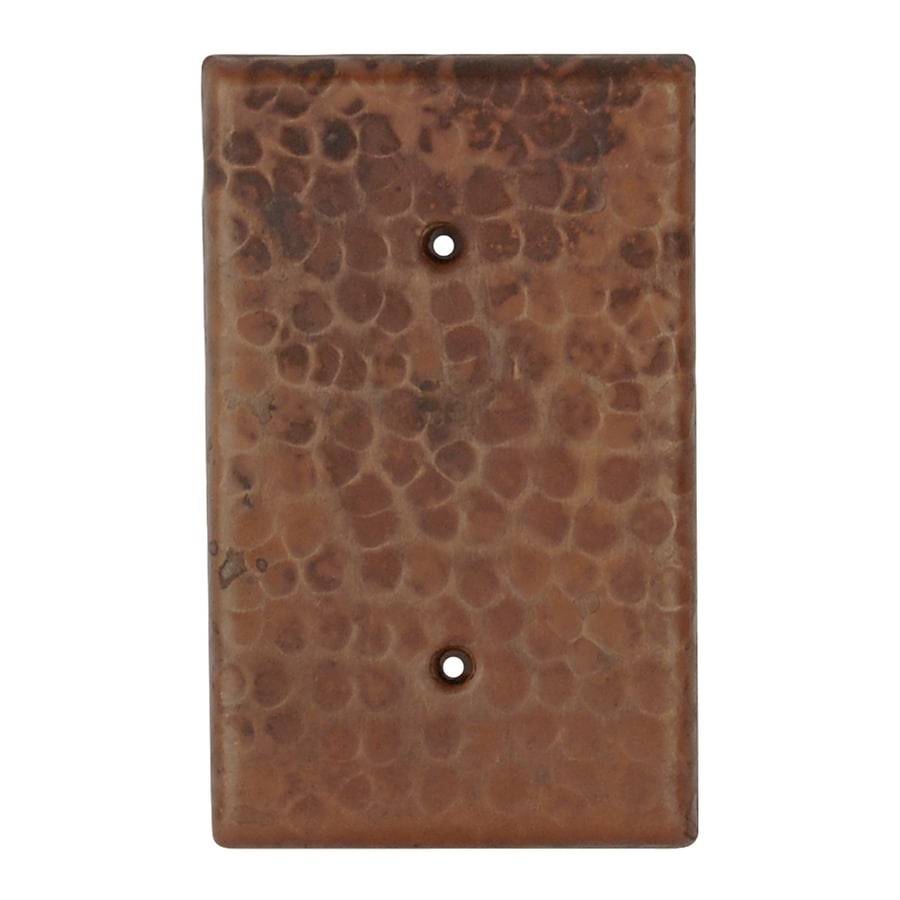 Premier Copper Products Oil-Rubbed Bronze Blank Wall Plate