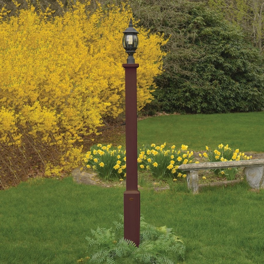 Highwood USA Brockton Weathered Acorn 68-in Post Light Pole