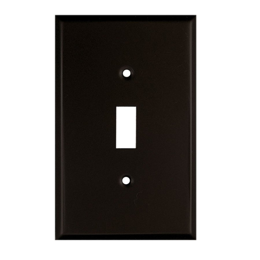 Anne at Home 1-Gang Bronze Single Toggle Wall Plate