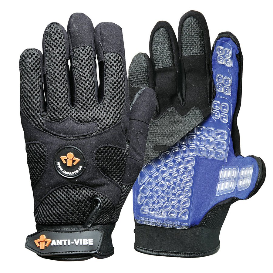 Leather work gloves lowes - Impacto Large Unisex Synthetic Leather Work Gloves