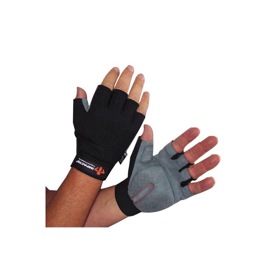 Shop Impacto Medium Unisex Leather Palm Work Gloves At