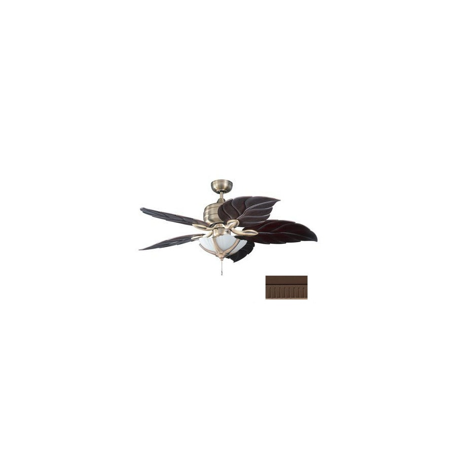 Kendal Lighting Copacabana 52-in Oil-Rubbed Bronze Downrod Mount Indoor Ceiling Fan (5-Blade)