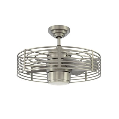 Kendal Lighting Enclave 23 In Satin Nickel Indoor Downrod