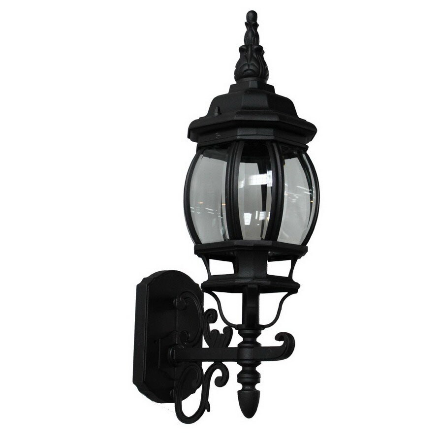 Artcraft Lighting Classico 20-in H Black Outdoor Wall Light