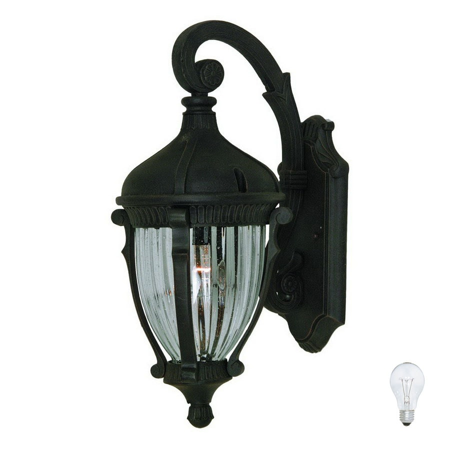 Artcraft Lighting Annapolis 21.5-in H Oil-Rubbed Bronze Medium Base (E-26) Outdoor Wall Light