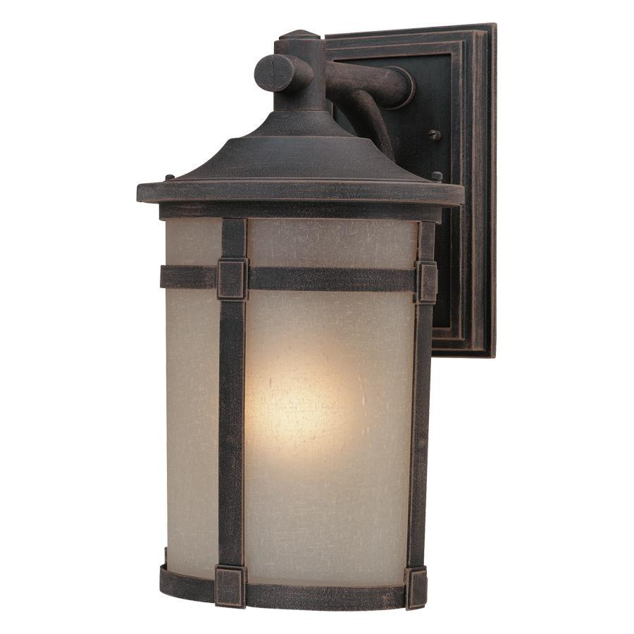 Artcraft Lighting St. Moritz 12.5-in H Oil-Rubbed Bronze Outdoor Wall Light