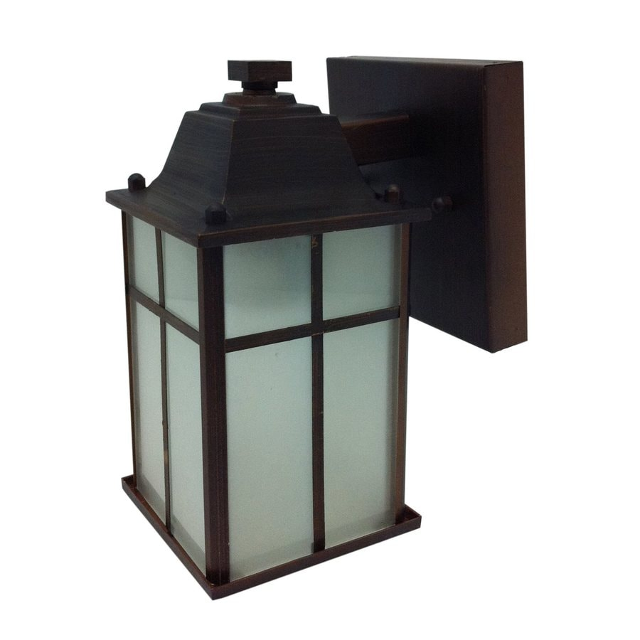 Whitfield Lighting 8.25-in H Oil-Rubbed Bronze Outdoor Wall Light