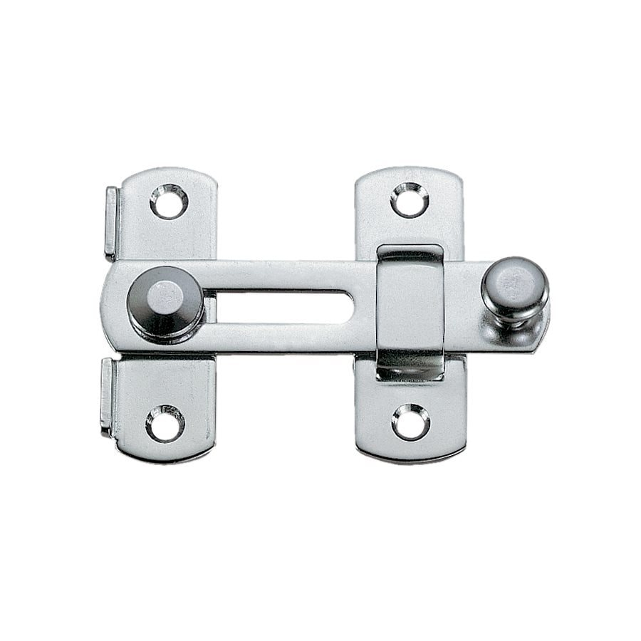 Sugatsune Polished Stainless Steel Entry Door Night Simple Bar Latch