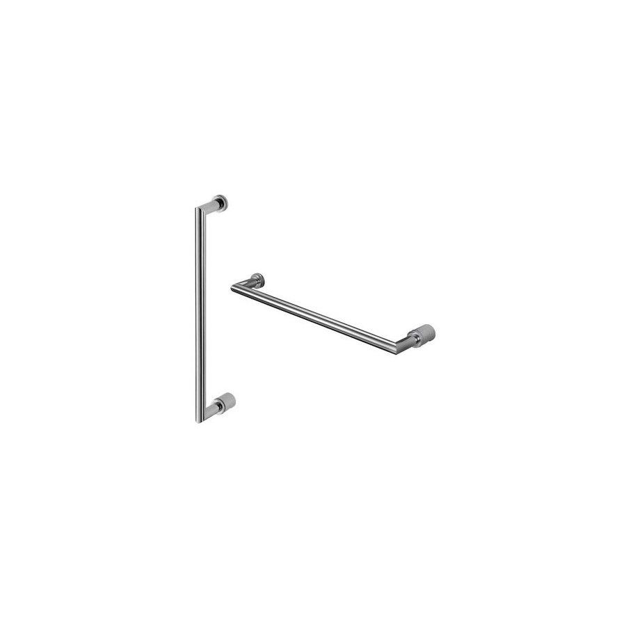 Shop Nameeks 18-7/8-in Brass Hinged Shower Door Handle at Lowes.com