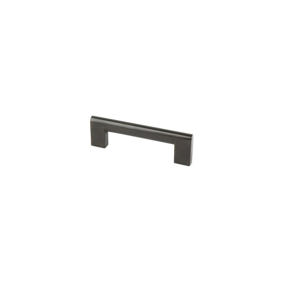 Topex Hardware 3-3/4-in Center-to-Center Brushed Oil-Rubbed Bronze Contemporary Bar Cabinet Pull