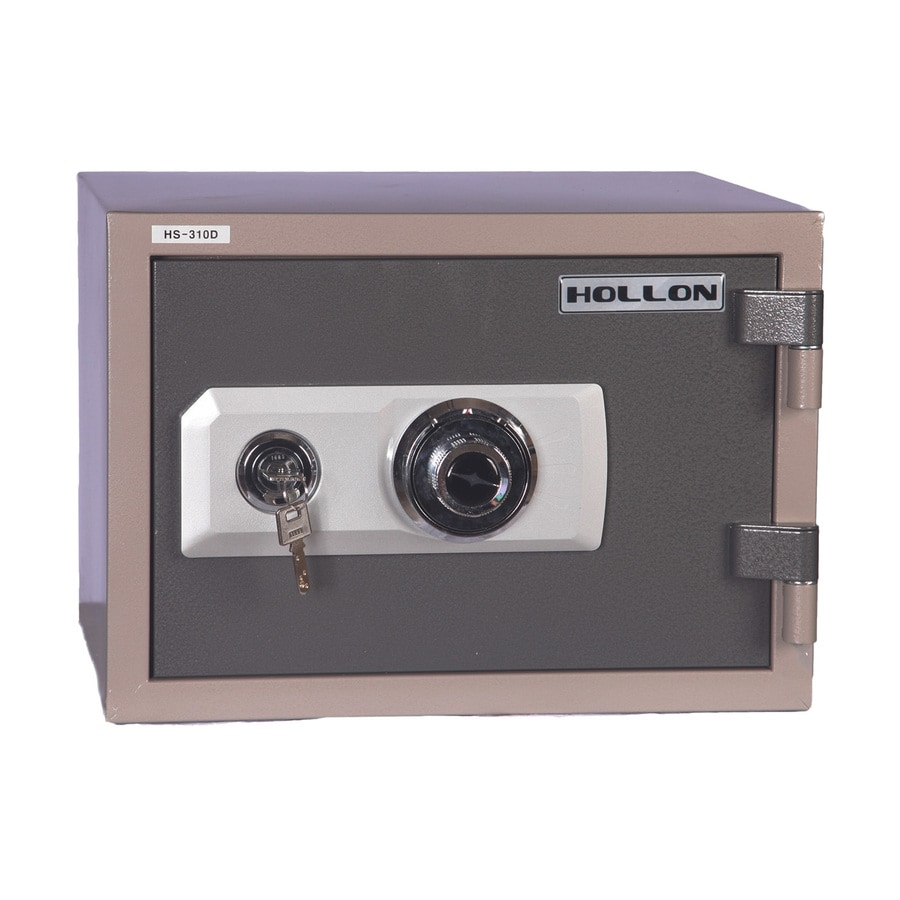 shop hollon 2-hour fireproof home safe combination lock commercial