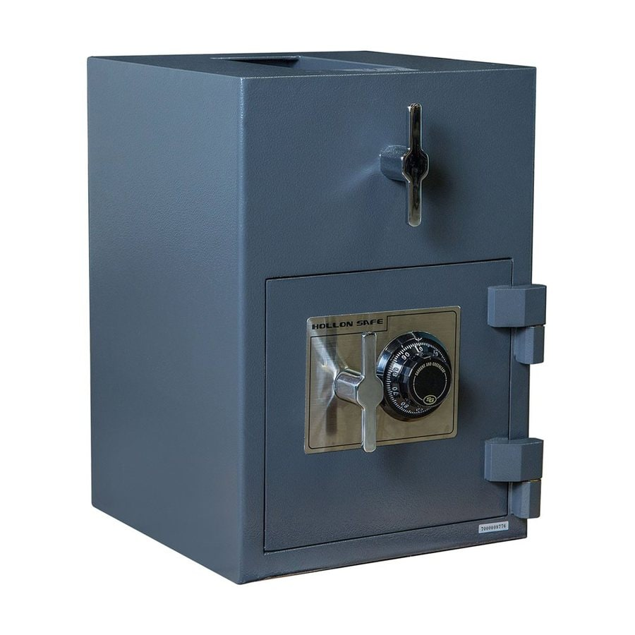 awesome Lowes Fireproof Safe Part - 15: Hollon 1.12-cu ft Combination Lock Drop Box Safe