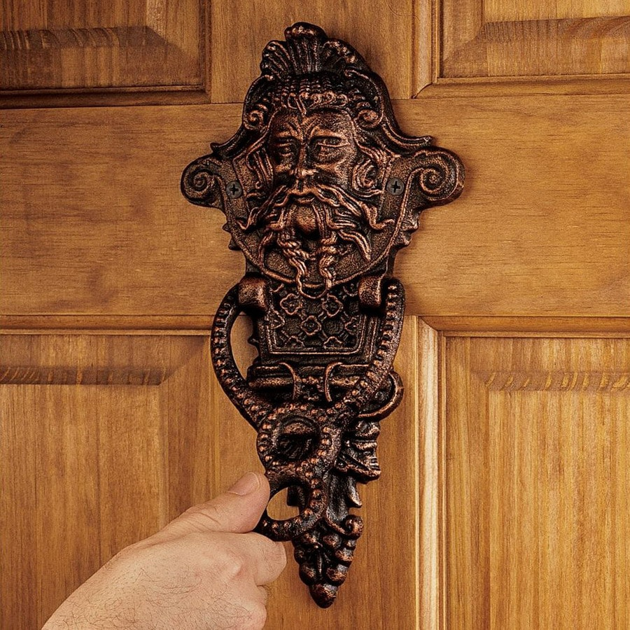 Design Toscano 10.5 In Entry Door Knocker