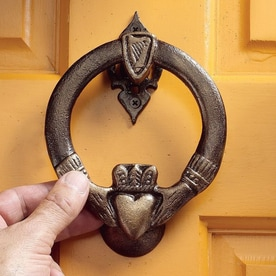 Design Toscano 5.5-in Entry Door Knocker & Shop Entry Door Knockers at Lowes.com pezcame.com