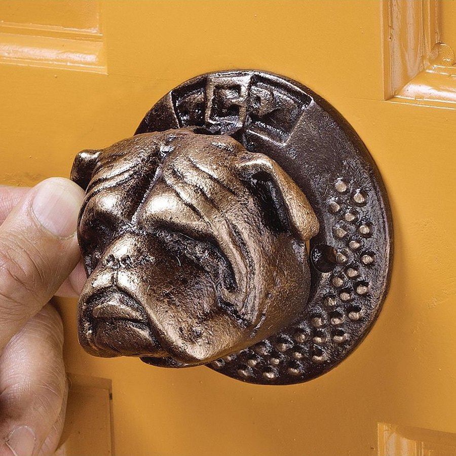 Design Toscano 4-in Entry Door Knocker